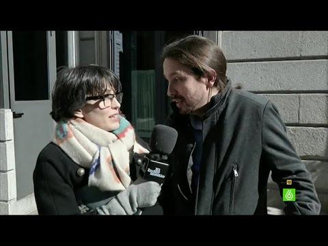 Pablo Iglesias dedica 'Mi novia es de derechas' a Andrea Levy y Miguel Vila