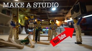Making A Youtube Studio
