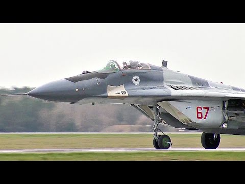 MiG-29 Taking Off - Polish Air Force