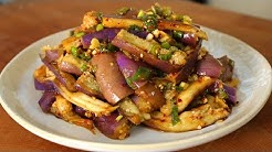 Eggplant and soy sauce side dish (가지나물)