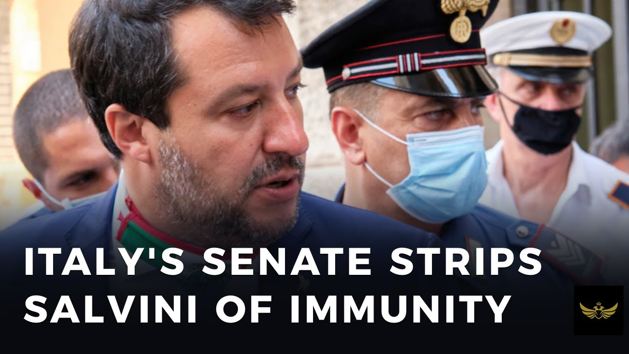 Italy's Senate strips Salvini of immunity in effort to prevent Italexit
