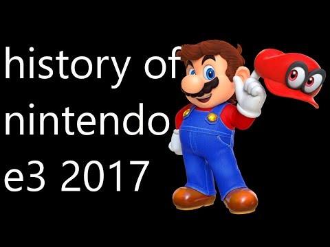 history of nintendo e3 2017