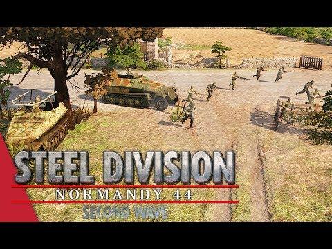 TGPT Round 1! Steel Division: Normandy 44 - Fussel vs Desert Wolves (Game 1, Caumont l'Éventé)