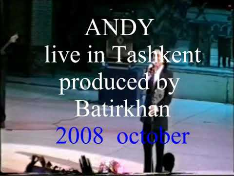 Andy Live In Tashkent (Areh Areh)