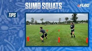 NFL FLAG Football Conditioning Drills