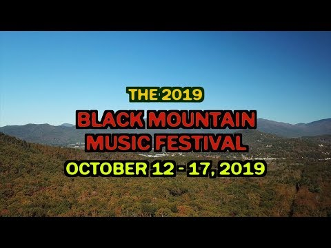 2019 Black Mountain Music Festival Promo
