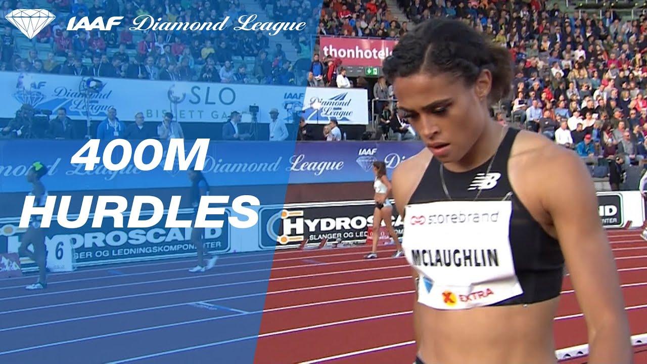 Sydney McLaughlin Wins Diamond League 400 Meter Hurdles