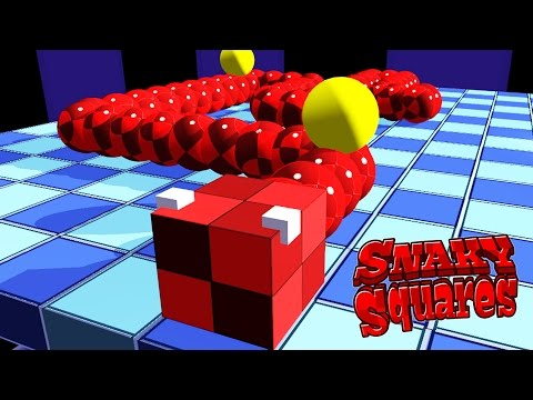 Snaky Squares on iOS, Android Game Trailer