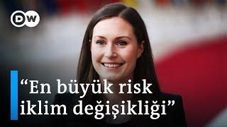 Finlandiya Başbakanı: Eski kuşak geleceğin sorunlarını anlamadığı için siyasetteyim - DW Türkçe