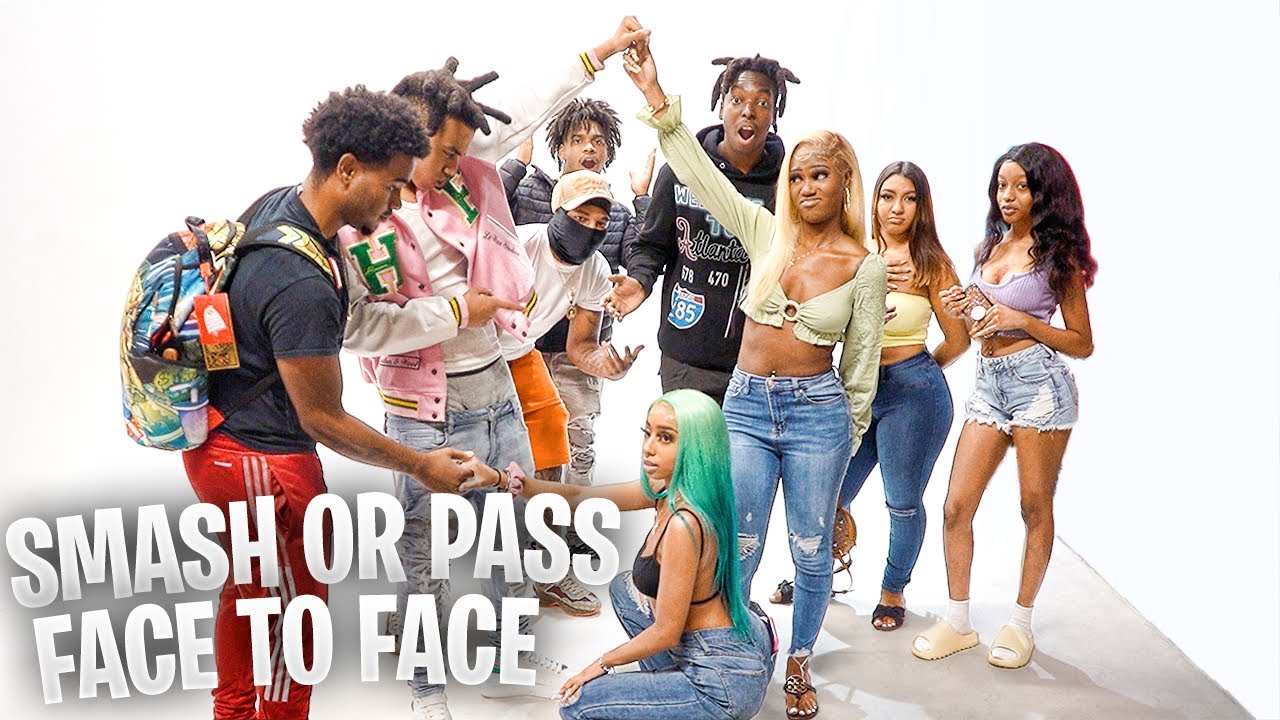 SMASH OR PASS BUT FACE TO FACE IN MIAMI!