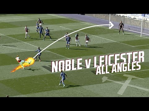 MARK NOBLE VOLLEY VS LEICESTER | ALL ANGLES