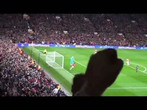 Robin Van Persie Hat Trick Manchester United 3   Olympiacos F C  0 Old Trafford 19 03 14 SD