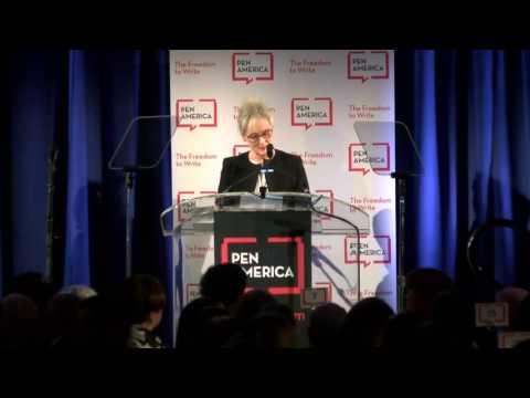 2017 PEN America Literary Gala: Meryl Streep and Stephen Sondheim