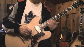Epiphone Sheraton Guitar Setup and Review