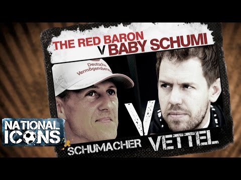National Icons | GRAND PRIX GREATS: Michael Schumacher vs Sebastian Vettel