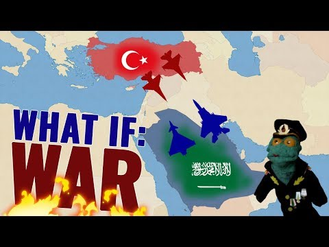 Turkey vs Saudi Arabia. A military