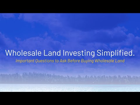 Important Questions to Ask Before Buying New York Land
