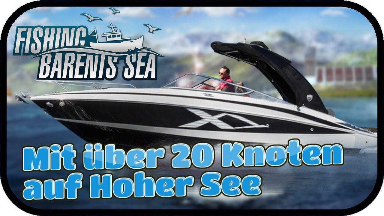 Fishing Barents Sea 017 Mit Uber 20 Knoten Auf Hoher See