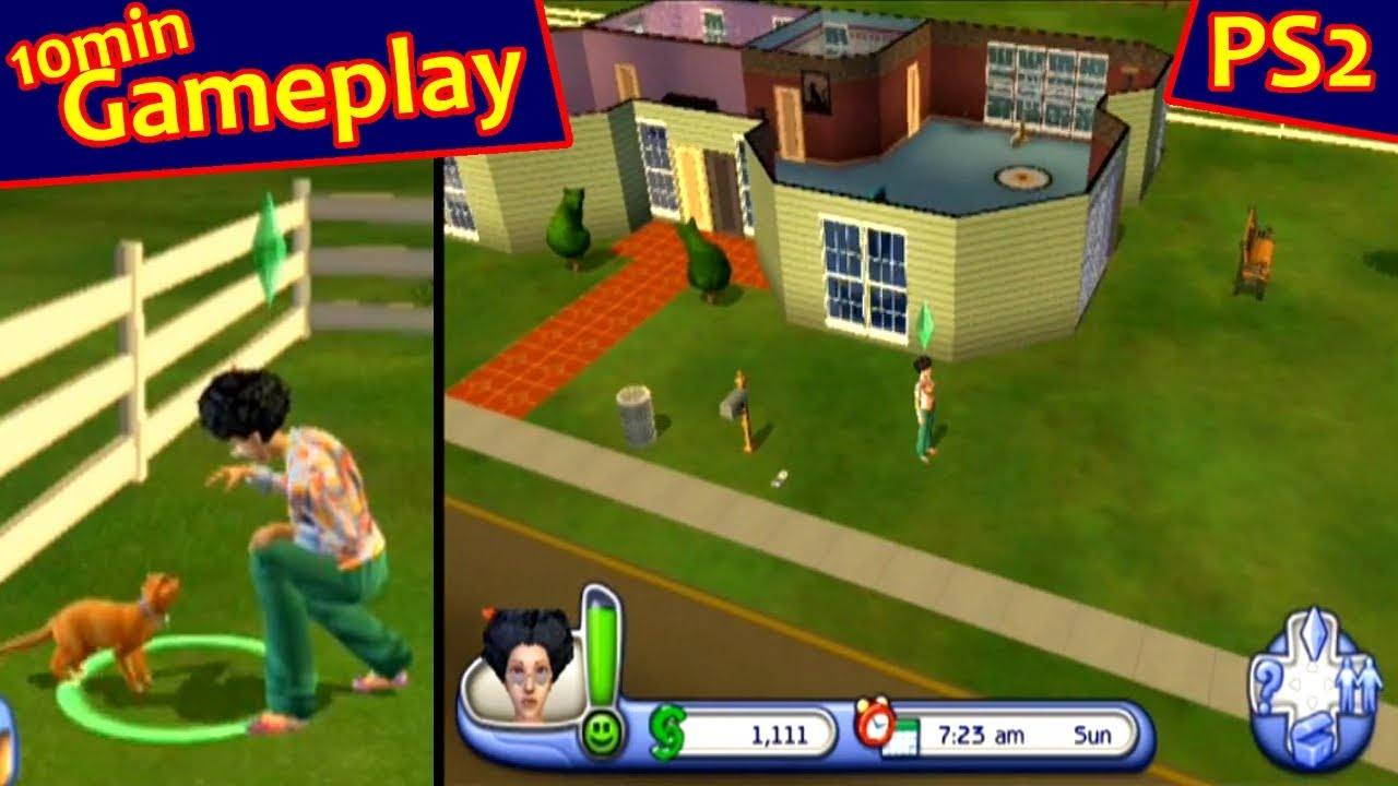 The Sims 2 Pets Ps2 Gameplay Youtube