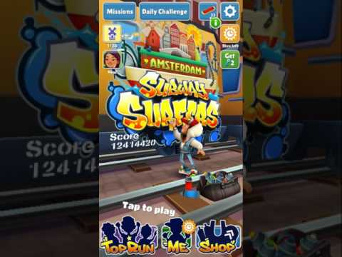 Subway Surfers How To Get The Jackpot!!