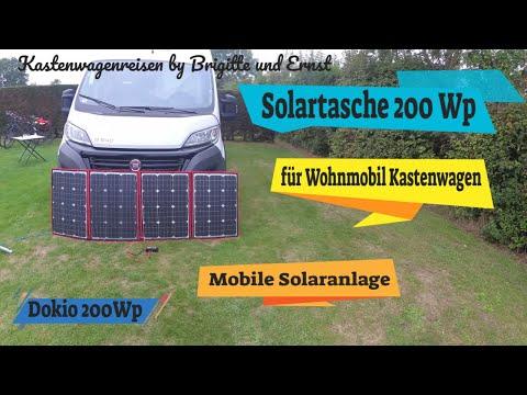 Solartasche 200 Watt Solar für Wohnmobile