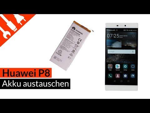 P8 Akku austauschen | Huawei p8 Akku einfach und günstig selbst wechseln
