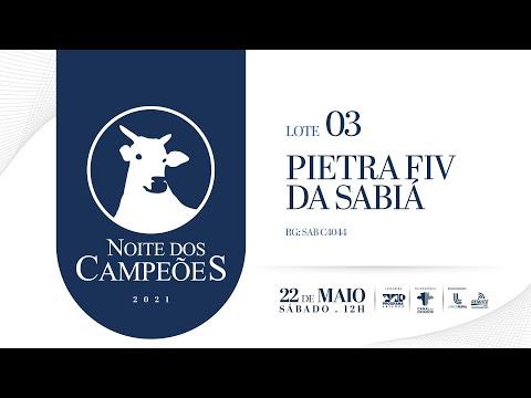 Lote 03   PIETRA FIV DA SABIÁ Copy