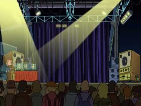 Beastie Boys in Futurama