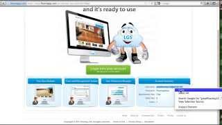 Insite CMS - Login to edit website
