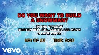 Kristen Bell, Agatha Lee Monn, Latie Lopez - Do You Want To Build A Snowman? (Karaoke)