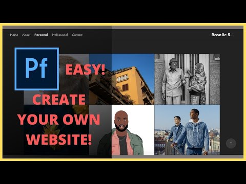 How To Create A Website On Adobe Portfolio (EASY)