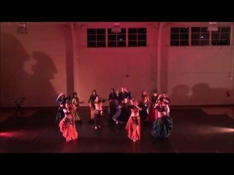 Tamzara Belly Dance at Monterey Peninsula College
