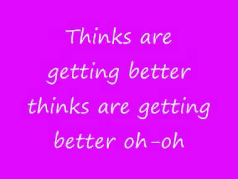 xandy barry and wally gagel things are getting better /w lyrics