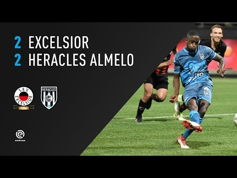 Excelsior - Heracles Almelo 2-2 | 18-04-2018 | Samenvatting