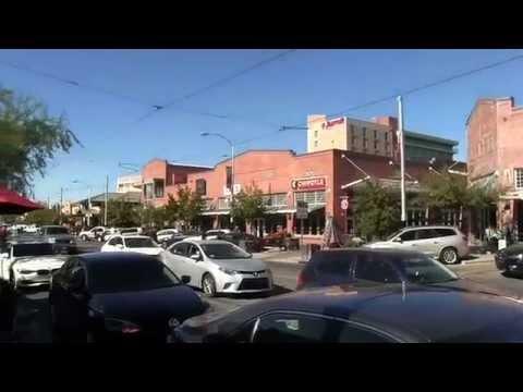 My Walk Down Main Gate Square (University Boulevard) In Tucson, AZ (11/24/14)