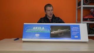 Підводний човен на радіокеруванні / Dumas Akula RC submarine (Sub)