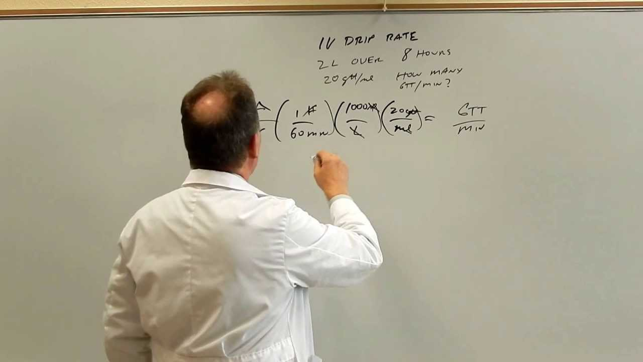 math worksheet : pharmacy calculations for technicians  iv drip rates  youtube : Pharmacy Math Worksheets
