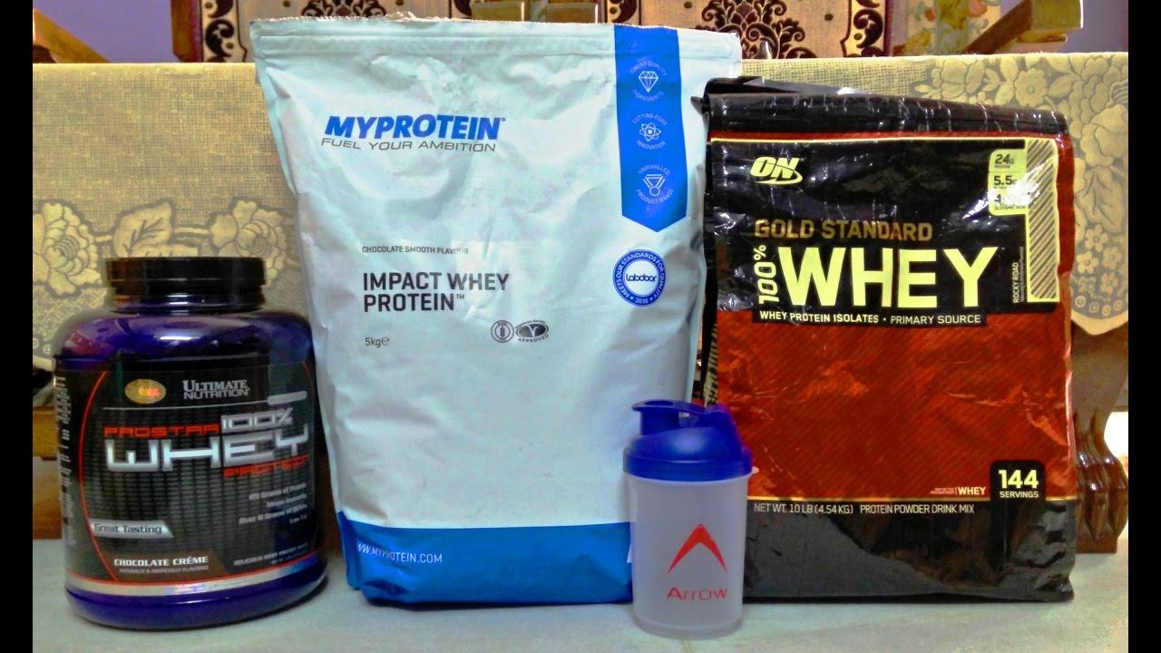 myprotein impact whey protein vs gold standard