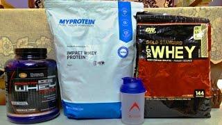 Myprotein Vs Ultimate Nutrition Vs Optimum Nutrition