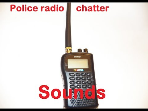 Police Radio Chatter  Sound Effects All Sounds