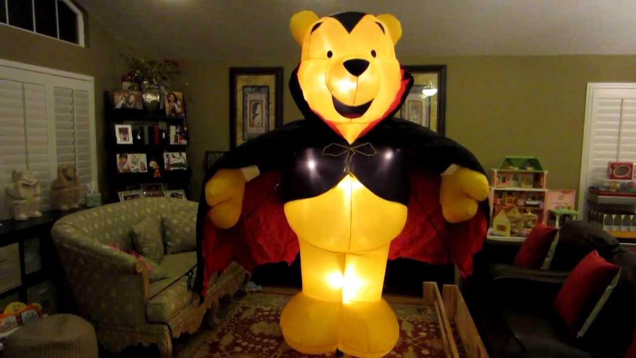 giant disney winnie the pooh halloween inflatable youtube