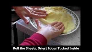 How To & Recipe Egg Noodles Florettes Passover Pesach In Israel