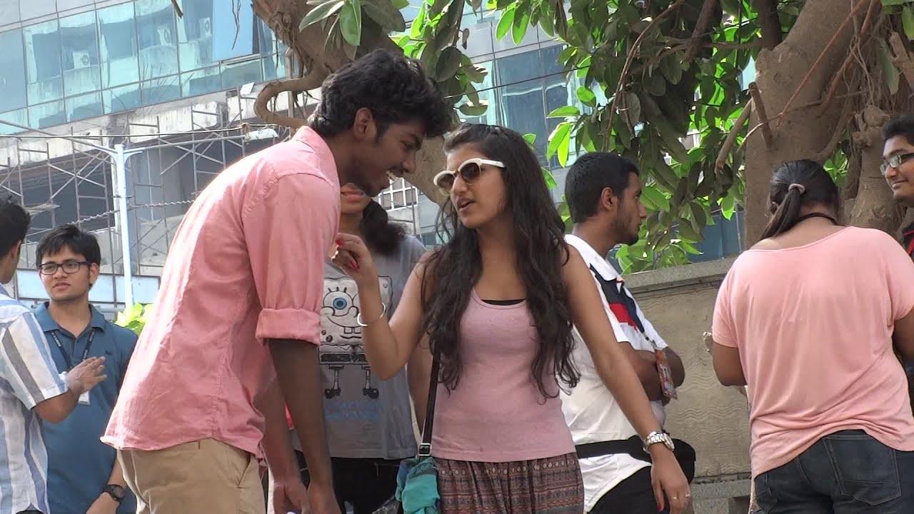 A Girl Proposing A Boy Wallpaper Proposing Girls Prank Funk You Prank In India Youtube