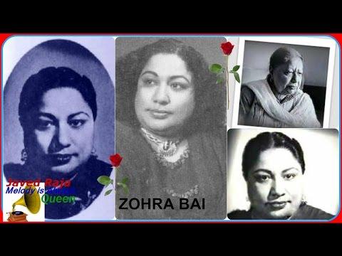 ZOHRA Bai & NASEEM Akhtar-Film-PARAYI AAG-{1948}~O Tumhein Kaise Dikhaoon Dil Cheer Ke-