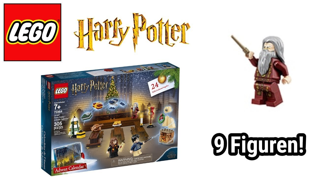 Lego Weihnachtskalender 2019.Bilder Inhalt Lego Harry Potter Adventskalender 2019 Set 75964