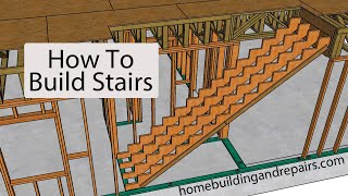 How To Build Stairs For Two Story House With Open Floor Plan Design