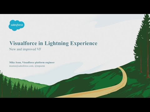 Visualforce in Lightning Experience