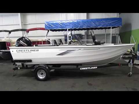2020 Crestliner 1650 Fish Hawk SE DC NEB474