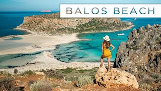 Amazing BALOS BEACH & How To Get There | Crete Travel Vlog