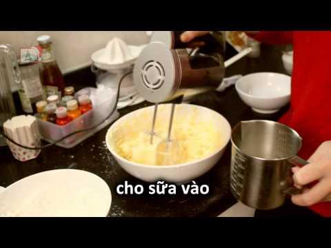 Hướng dẫn làm bánh Coconut Cupcake dịp Giáng Sinh